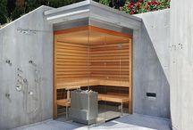 sauna exterioara