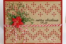 Christmas Cards / Having a card making party every year with friends and family in the month of November. We create our own cards or pinterest ideas. I make usually about 45 cards for all my friends and family.  / by Carolin Chubinsky