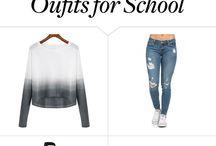 Skole outfite