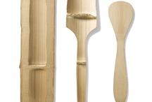 Bamboo utensilios