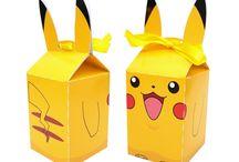 Lembrancinhas Pokémon / Lembrancinhas Pokémon Pikachu, Charmander, Bulbasaur, Squirtle e Pokébola