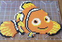 Perles hama - aquarium