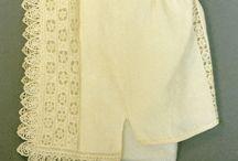 XVII bielizna, nakrycia głowy