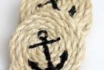 Things I Love: Anchors / Anchot decor, anchor crafts and all things nautical.  / by the Grant life