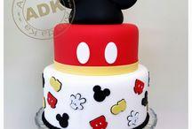 Bolo do Mickey e minnie