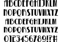 RETRO 1950 fonts
