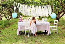 Aubrey Anne's 1st Birthday / Garden party summer theme