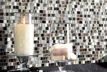 Stone Tile & Stone Walls / You can transform any area or room with a stunning stone accent wall or add stone tile mixed with other materials to create a dramatic floor or rustic kitchen backsplash or bathroom wall.