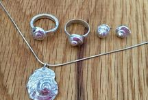 Silver Seashell Jewellery / Handmade silver seashell jewellery - inspired by the sea.