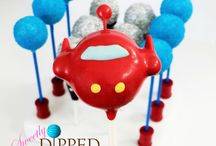 Little Einsteins Cake Pops / Cake pops for a Little Einsteins party