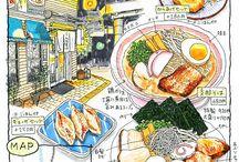 go go gourmet / Illustration