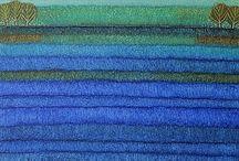abstracte landschappen