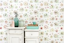 Behang Wallpaper / Vrolijk behang Studio Ditte