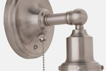 Pull chain light fixture