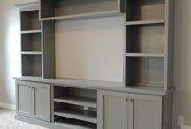 Entertainment Center's and Built in's