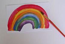 Let's Get Creative- Kid Crafts / artful ideas for kids / by Allie Fields