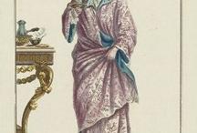 XVIII robe de chambre / szlafrok