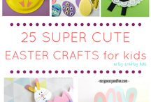 Easter activities for kids / Easter and spring activities for kids, eggs, bunny, cakes decoration