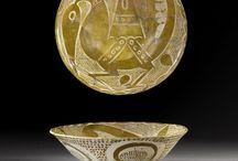 assiette ceramique islamique