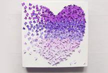 Schmetterlinge im Herz