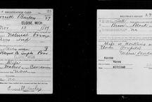 WWI Draft Registration Cards for Eloise