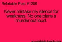 Just Me Saying...