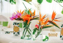 Tropic wedding inspo