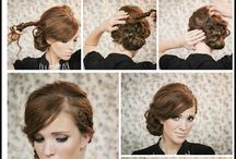Hairstyles how-to for ling hair