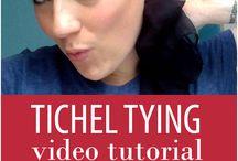 Tichel Tying