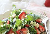 Salads! / Salads, just like the name / by Michelle Felber