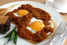Mexican Breakfast Recipes / Juevos Rancheros / Scrambled eggs & chorizo etc... Recipes on website, ingredients in stock. Learn how to cook mexican