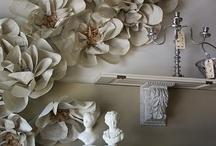 Felt & Paper Flowers / by Teresa Gunn