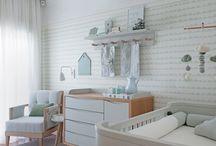 quarto de bebe menta