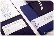 Navy and Lime Green Weddings / Navy and Lime Green Wedding ideas / by Gourmet Invitations