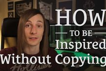 creativity / How to be inspired and creative