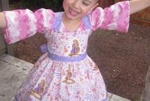 MY HANDMADE ITEMS / Beautiful Dresses I make for Pretty Little GIrls.