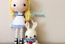 bonecas de croche