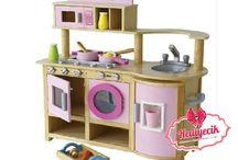 Mentari Ahşap Oyuncak Mutfak set
