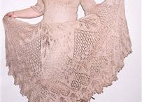 faldas dos agujas-knitted skirt / by clara martinez