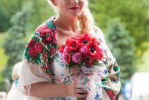 wedding bouquets / bukiety ślubne