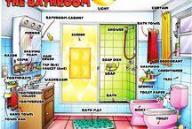 English: Voca H. Bathroom