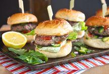 Lamb Burgers / Burgers taste best with lamb! / by Tri-Lamb Group