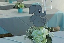 Baby Boy Shower - Elephant
