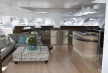 Beautiful yacht interiors / Some of the interiors of the beautiful catamarans designd by Du Toit Yacht Design - the interiors are also our work http://www.dtyd.co.za