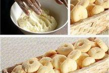 biscoitos doces e salgados