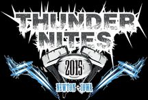 Thunder Nites in Newton / Newton's monthly motorcycle rallies around the square in downtown Newton every 2nd Friday, May-September
