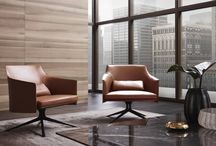 POLIFORM ARM CHAIRS