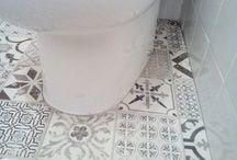 Revestimiento vinílico para baño