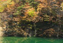 錦秋湖・和賀川(岩手県)