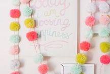 Pompones ideas